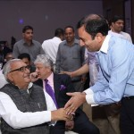 Bhupinder Hooda and Puneet Dalmia of Dalmia Cement