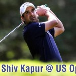 Shiv Kapur at the US Open ©golfingindian.com