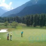 Golfing in Pahalgam, Jammu and Kashmir