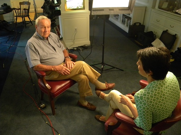 Arnold Palmer interview with golfingindian.com