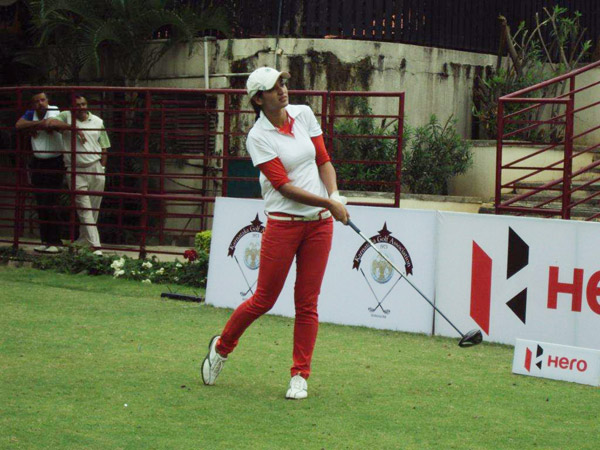 Neha Tripathi wants to be a role model for golfers