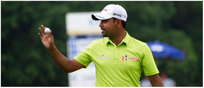 Anirban Lahiri at the Macau Open