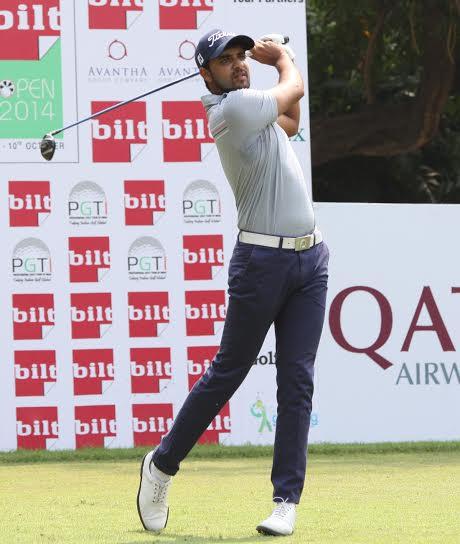 Khalin Joshi at the Noida Golf Club