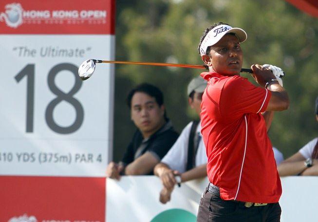 SSP Chowrasia at the Hong Kong Open