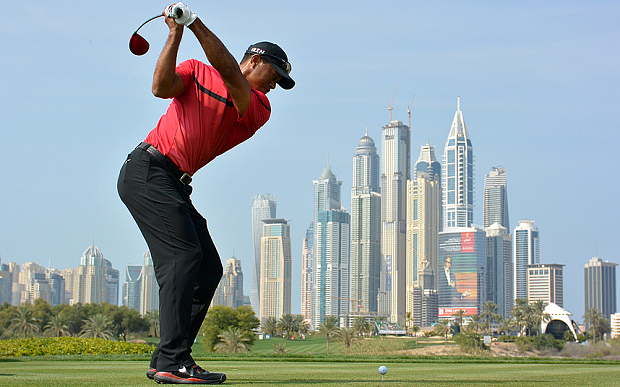 Tiger Woods is running out of favour in the desert