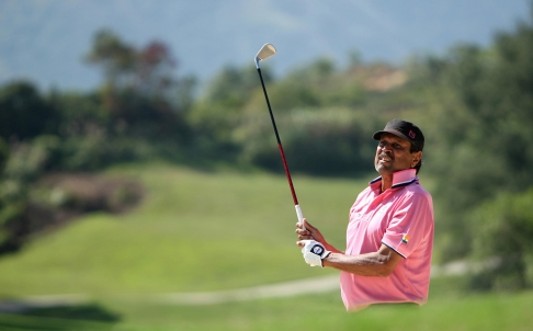 Kapil Dev played well at the Senior Amateur event in HongKong