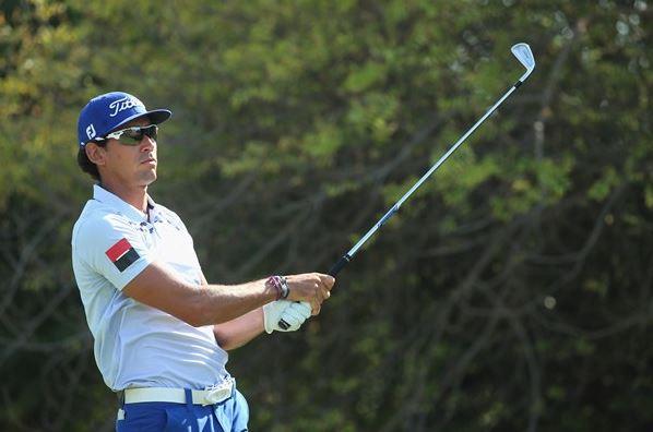 Rafa Cabrera-Bello joined Henrik Stenson in the lead in Dubai