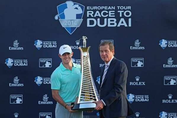 Rory McIlroy sealed the Race to Dubai for the second time in three years