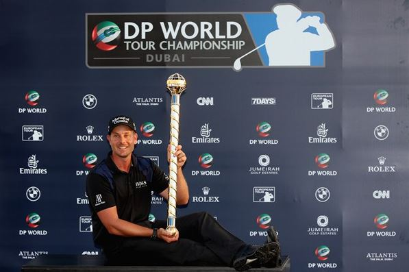 Henrik Stenson played solid all week to successfully defend the DP World Tour Championship