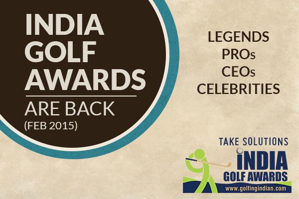 India Golf Awards 2015