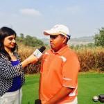 Mithun Perera chats with golfingindian at Nirmayan Charity Golf in Pune