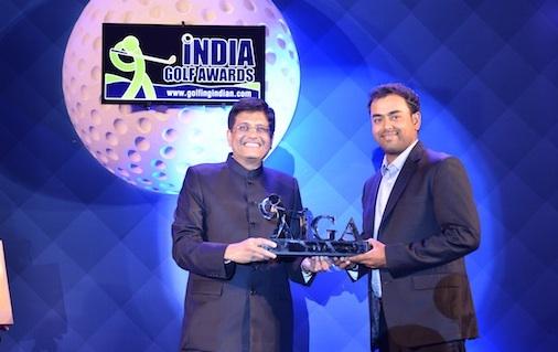 Anirban Lahiri wins at India Golf Awards