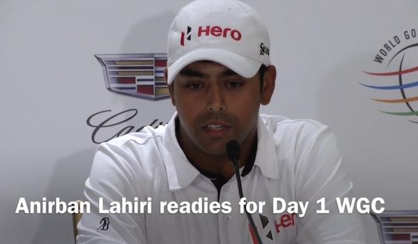 Anirban Lahiri hopes for a win at WGC Cadillac at Doral