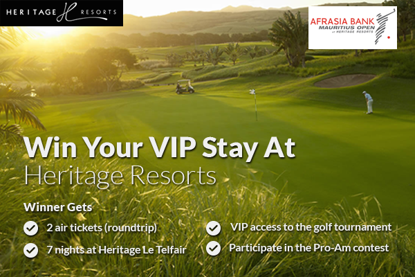 Win A Pro-Am Slot At AfrAsia Mauritius Open