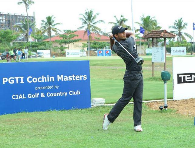 Shubhankar Sharma gets off to a good start at the Cochin Masters