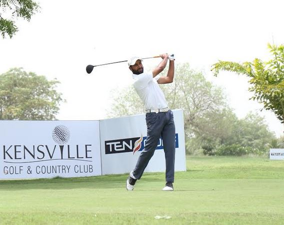 Amardip Sinh Malik is lying third in Bangladesh after making 67 in the first round