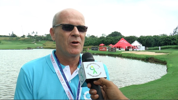 Francois Eynaud on golf in Mauritius