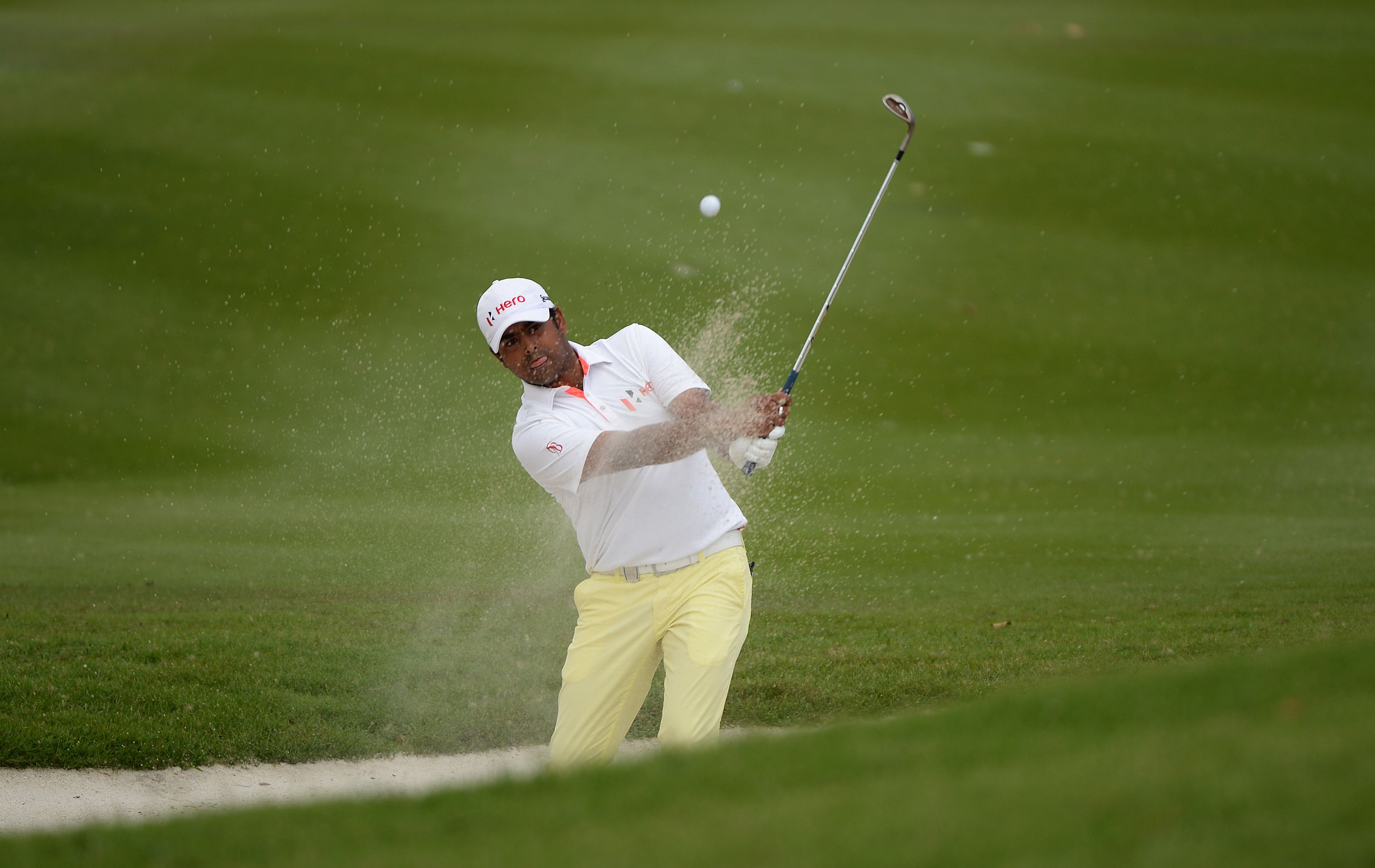Anirban Lahiri will enjoy the support of his family and coach at The Open this month