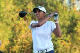 A strong finish helped Aditi Ashok gain fifteen spots to end Stage II of LPGA and Symetra Tour Qualifying School in a tie for 24th place.