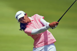 Aditi Ashok at the Pinnacle Country Club