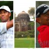 Tiger Woods at Delhi Golf Club
