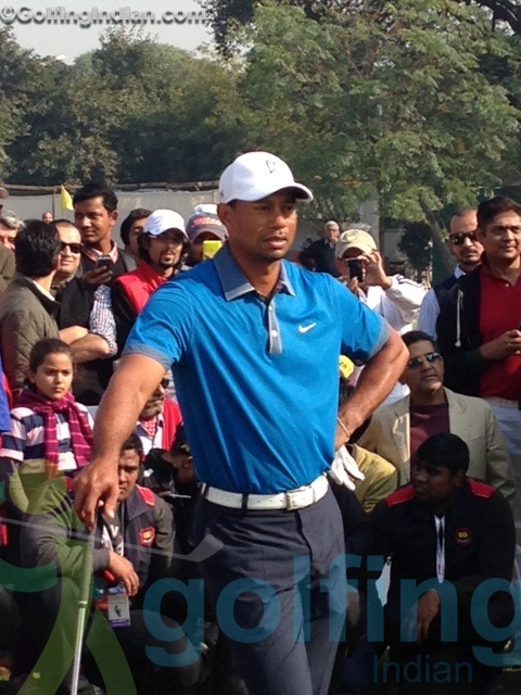 Exclusive: Tiger Woods up, close