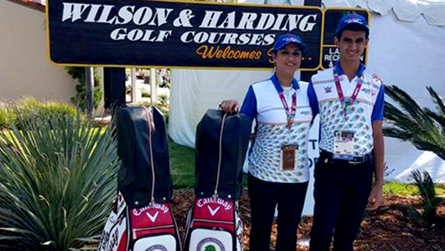 Ranveer singh saini strikes gold in la golfingindian ranveer singh saini made history by winning gold at the special olympics thecheapjerseys Gallery