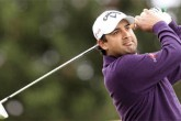Shiv Kapur lying T8 in the third of of Queen's Cup