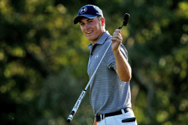 Jordan Spieth shows no signs of relenting, reminding his peers that he means business with a brilliant 64 in Kapalua