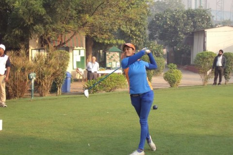 Shweta Galande shot an even 72 in the first round of the sixth leg on the Hero Women's Professional Golf Tour