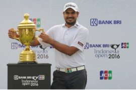 Gaganjeet Bhullar won Bank BRI-JCB Indonesia Open 2016