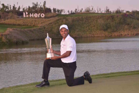 SSP Chawrasia wins Hero Indian Open 2017