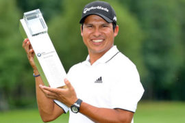 Andres-Romero-recorded-his-first-European-Tour-win-for-a-decade at BMW International Open