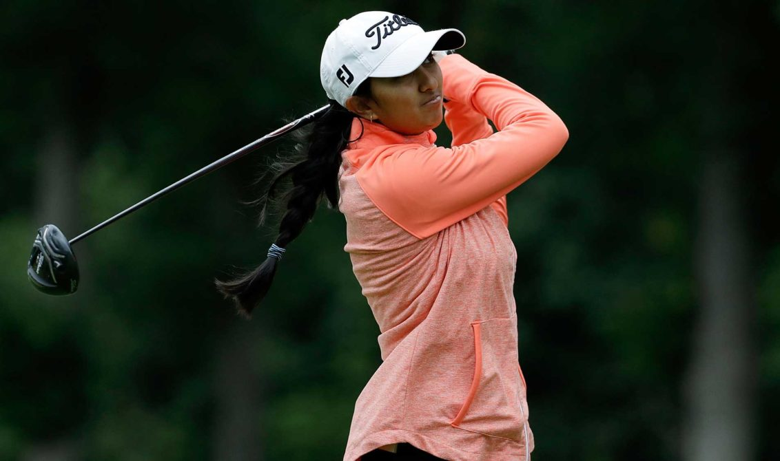 Aditi Ashok made a fine start to the second major of the season