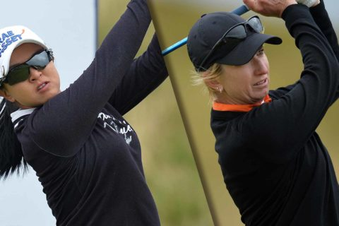 Cristie Kerr and Karrie Webb lead round 3 at Ladies Scottish Open