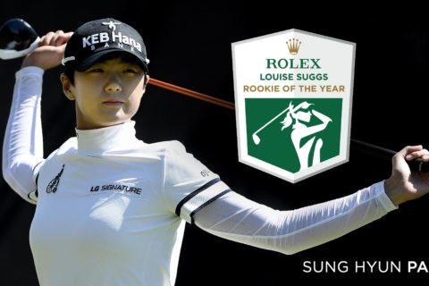 Rolex Rookie of the Year - Sung Hyun Park