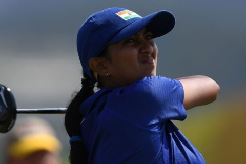 Aditi Ashok second at Fatima Bint Mubarak Ladies Open 2017