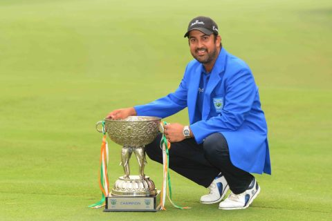 Shiv Kapur won the Panasonic Open by three strokes