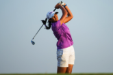 Aditi Ashok on the Ladies European Tour