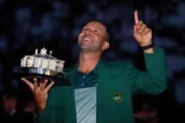 Sergio Garcia wins Golf Writers Trophy