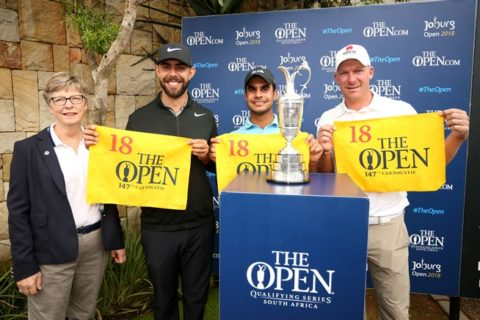 Shubhankar Sharma qualified for the Open Championship