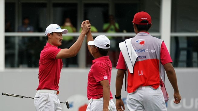 Asia holds the edge - Eurasia Cup