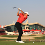 Rory McIlroy i sjust one shot off the lead at Abu Dhabi in the penultimate round.