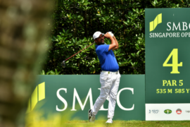 Shiv Kapur climbs up the order in the Singapore Open