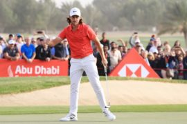 Tommy Fleetwood retains Abu Dhabi crown