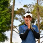 AtthayaThitikul during the second round of the Women's Australian Asia-Pacific golf Championship