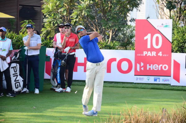 Kshitij Naveed Kaul played excellent golf in the Hero Indian Open