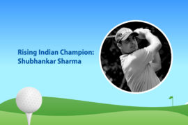 The story of golfer Shubhankar Sharma, rising champion in India