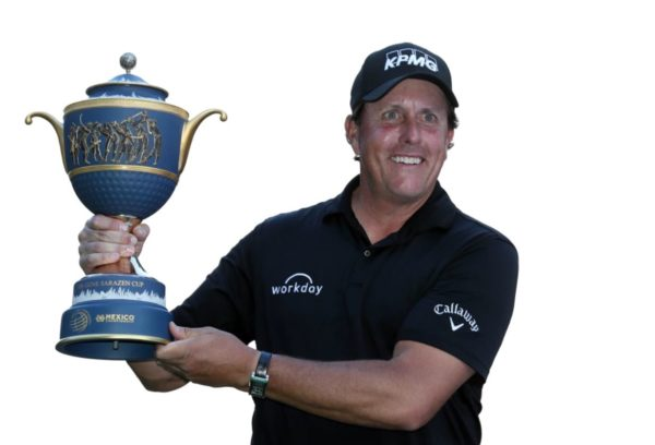 Phil Mickelson wins WGC - Mexico Championship