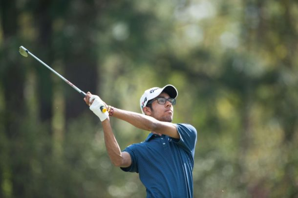 Akshay Bhatia fired a brilliant 68 in the first round of Junior Invitational